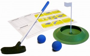 Mini golf Floppy Kid Set