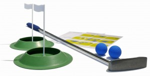 Mini golf Floppy Office Set